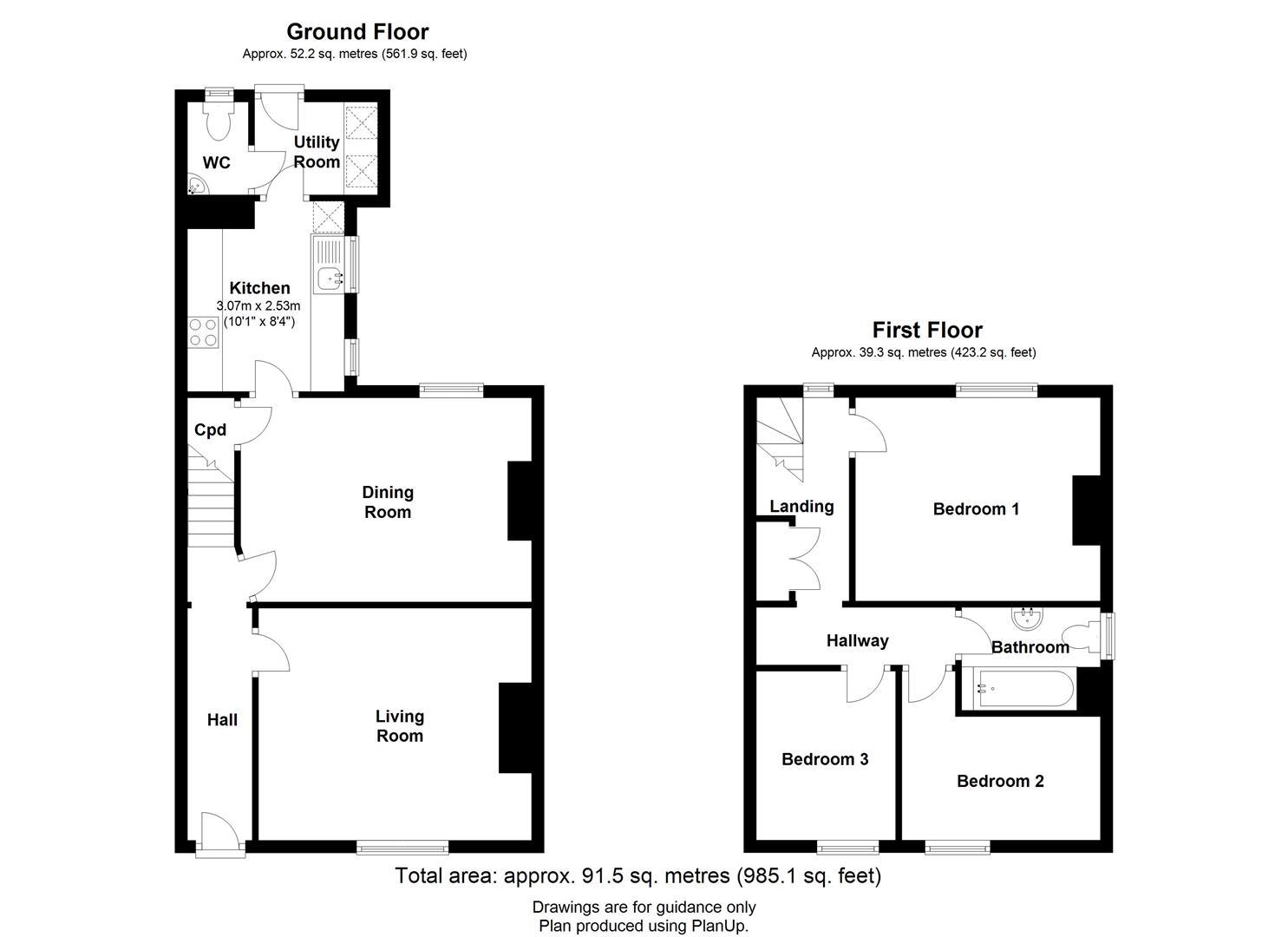 Main Street, Westley Waterless, Newmarket, Newmarket floorplan
